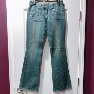 Buffalo Jeans David Bitton Wide Leg Denim Jeans